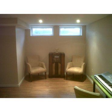 basement renovation 2011