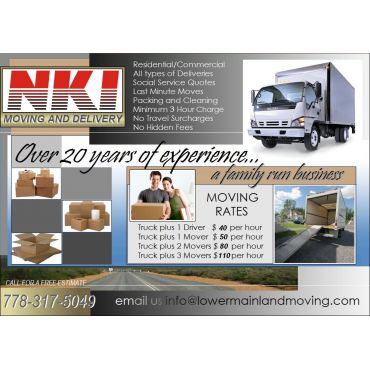 NKI Moving and Delivery logo