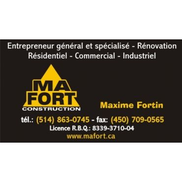 Construction Ma Fort inc. PROFILE.logo