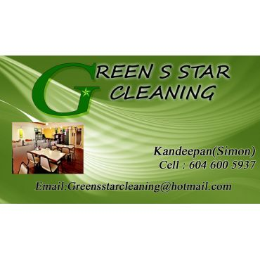 Green S Star Cleaning PROFILE.logo