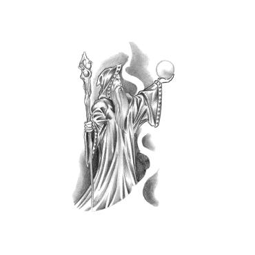A Wizard Locksmith logo
