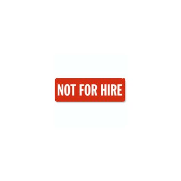 Not For Hire logo