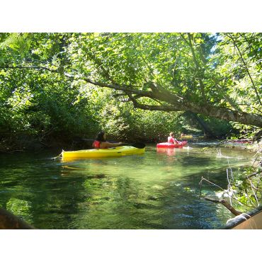 after grodons corner yellow kayaks