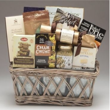Mother's Day Planter Box Gift Basket