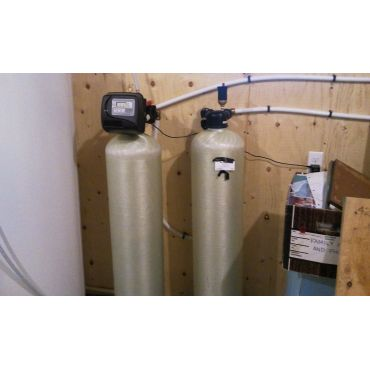 air injection iron removal system