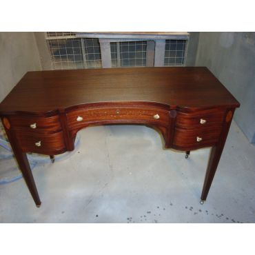 antique desk after