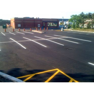 Parking Lot Paving and Linemarking