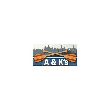 A & K's Wabigoon Lake Cabins logo