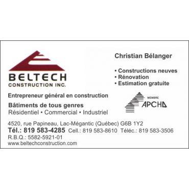 Beltech Construction Inc. logo