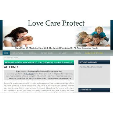 Insurance Agent Website