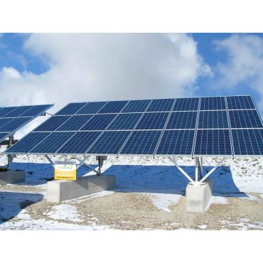 10kW groundmount - Conergy SolarGiant