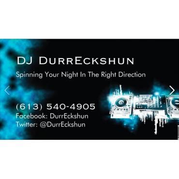 DJ DurrEckshun Professional DJ Service logo