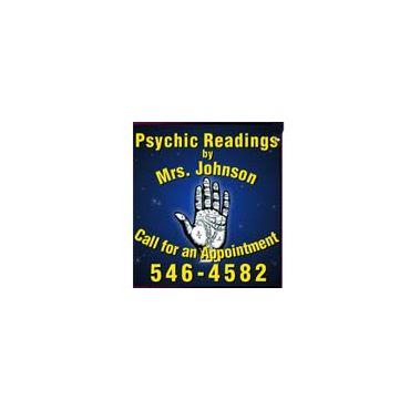 Psychic Readings by Mrs Johnson PROFILE.logo