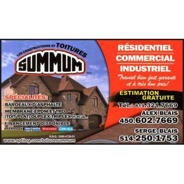 Constructions & Toitures Summum inc. PROFILE.logo