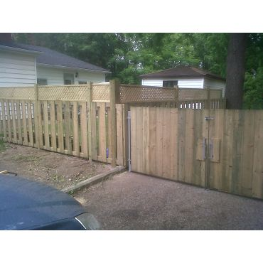 Completed Fence Project