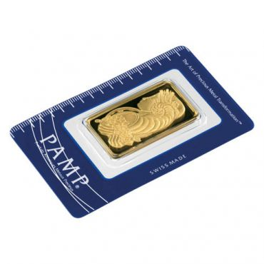 PAMP Suisse Gold Bar (1oz)