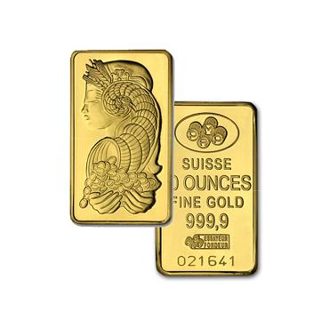PAMP Suisse Gold Bar (10oz)