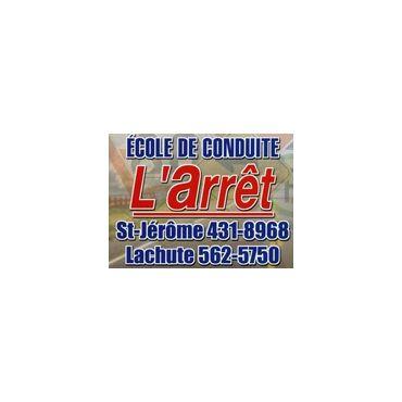 École De Conduite L'Arrêt logo