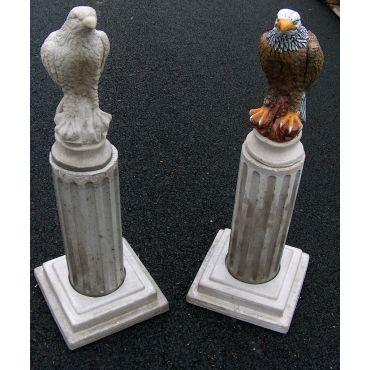 Concrete Eagle statue on Pillar