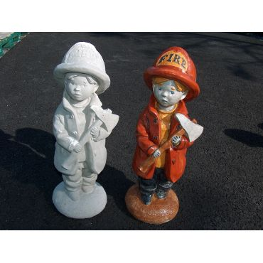 I want to be a fireman statue
