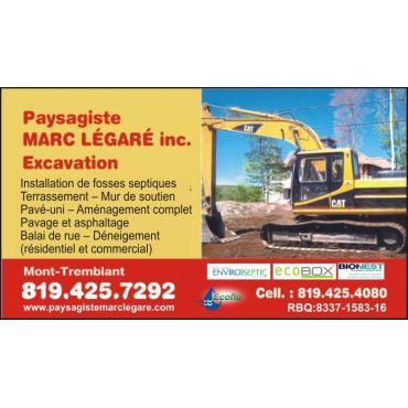 Paysagiste Marc Légaré inc. / Excavation Marc Légaré logo