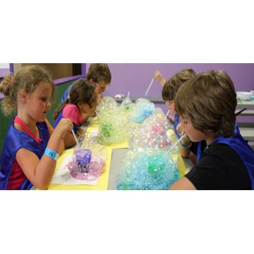 "Bubble fun at ""Imaginarium Camp HJ"""