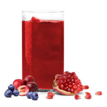 IP Cranberry blueberry drink