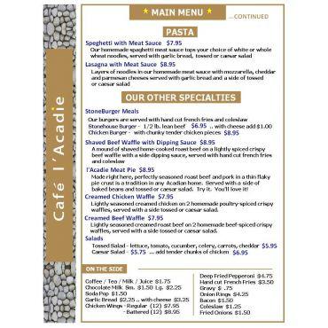 Main Menu - page 2