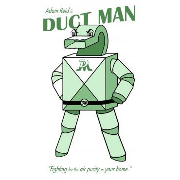 Duct Man Furnace & Duct Cleaning PROFILE.logo