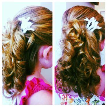wedding hair design by xcentric team