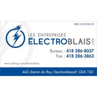 Entreprise ÉlectroBlais ltée PROFILE.logo