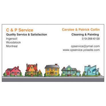 C & P Cleaning/Painting Service logo