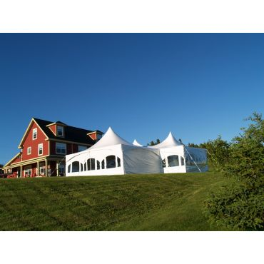 White Sky Tent Rentals logo