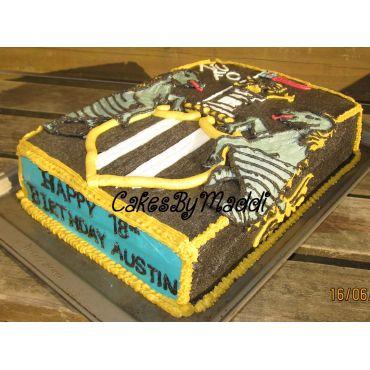 Newcastle Utd. Soccer/Football Fan Cake
