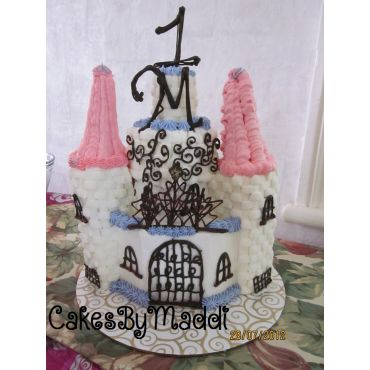 Fantasy Castle Cake- 1st Birthday