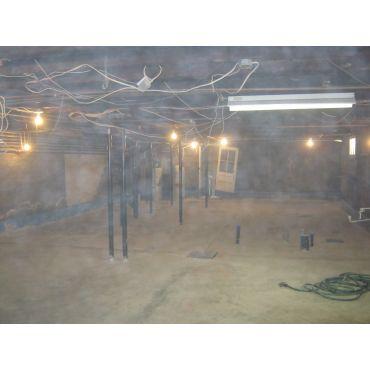 Creusage de sous-sol 12''