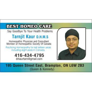 Best Homeo Care - Dr. Tarnjit Kaur D.H.M.S PROFILE.logo