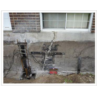 Réparation de fissures