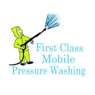 First Class Mobile Pressure Washing logo