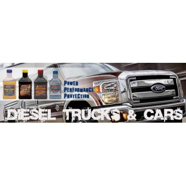 Diesel Trucks and Cars