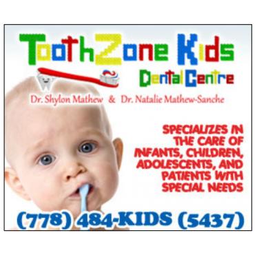 ToothZone Kids Dental Centre - Dr. N & S Mathew PROFILE.logo