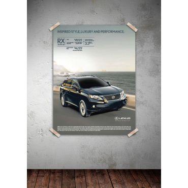 Car Ad Poster Graphic Design