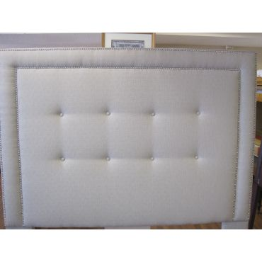 Upholstered headboards and beds