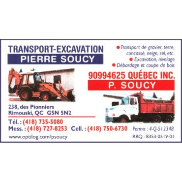 Transport - Excavation Pierre Soucy logo