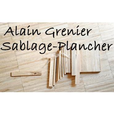 Alain Grenier Sablage-Plancher logo