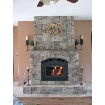 Hackett Stone fireplace