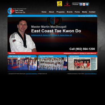 Website Design | East Coast TKD