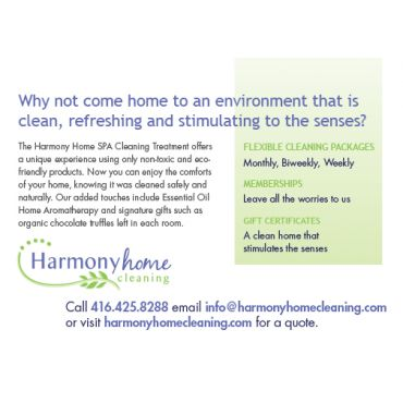 Harmony Home Cleaning PROFILE.logo