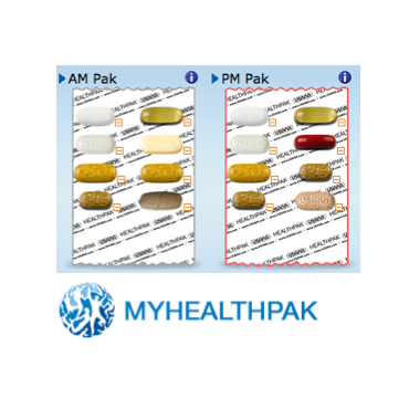 MyHealth a.m., p.m. packets