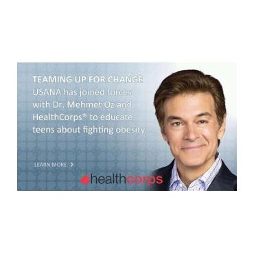 Dr. Oz joins forces with Usana